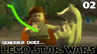 "LEGO STAR WARS The Complete Saga Ep 02 - ""Jar Jar STINKS!!!"""