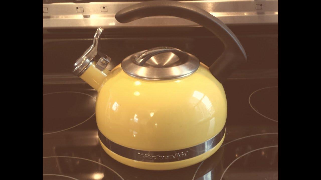 Kitchen Aid Appliances Reviews Kitchen Aid 20 Kettle Review Youtube