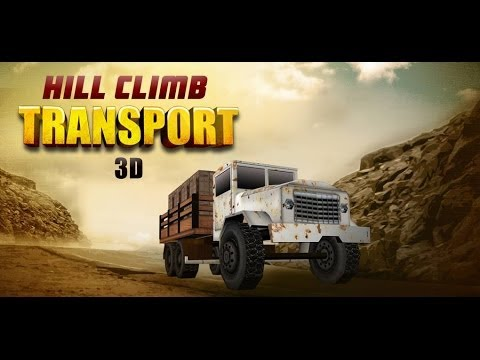 HILL CLIMB TRANSPORT 3D - Android HD Game play Trailer