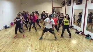 Chino y Nacho - Andas En Mi Cabeza ft. Daddy Yankee coreo zumba