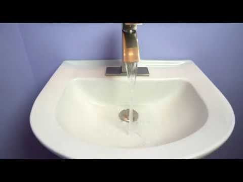 purelux spring pop up bathroom sink drain stopper plug review