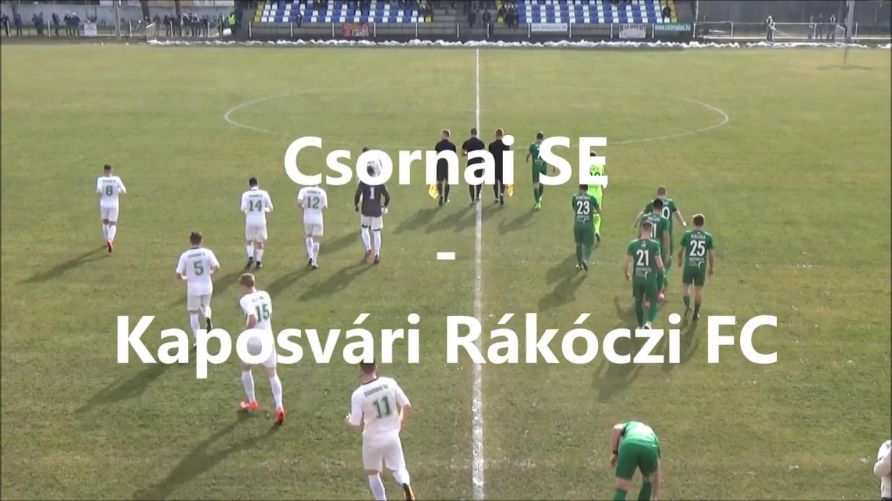 Csornai SE - Kaposvári Rákóczi FC 0-1