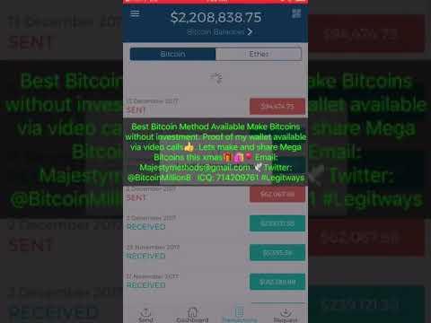 The Bitcoin Billionaire $2,208,835.78 (How i became a crypto billionaire)