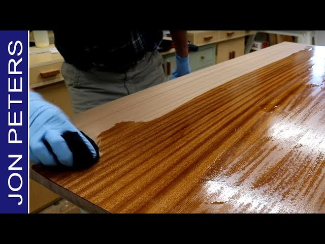 How To Make A Beautiful Wooden Countertop Youtube