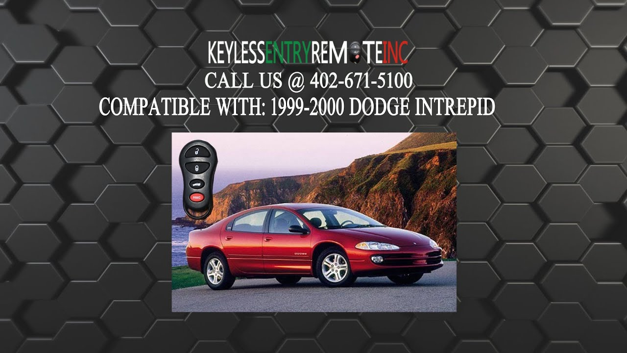 hight resolution of how to replace dodge intrepid key fob battery 1999 2000