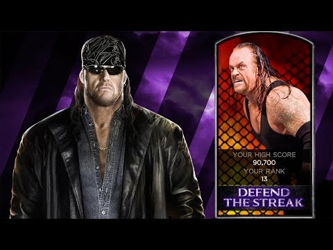DEFEND THE STREAK - AMERICAN BADASS UNDERTAKER - WWE 2K14 - Throwback Thursday