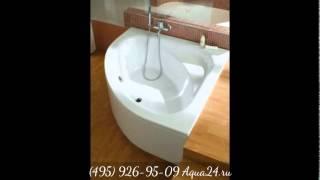 Обзор новинок и популярных моделей угловых и асимметричных ванн от Aqua24.ru