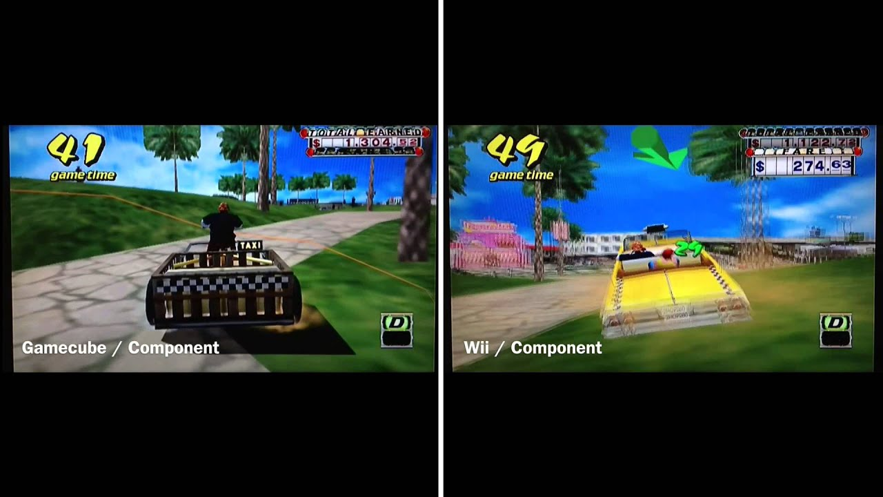 Do gamecube games on the wii look better? | Yahoo Answers