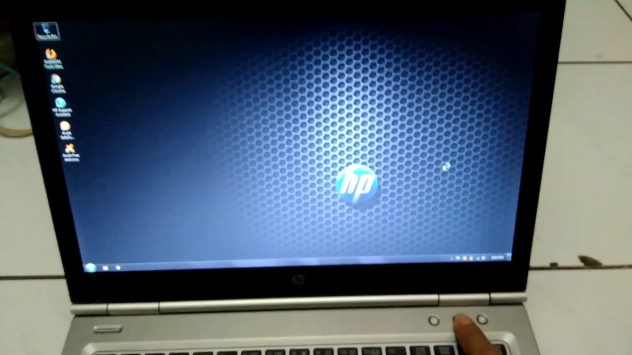 HP Elitebook 8460p Core i7 - Indonesia Tes Booting-Up - YouTube