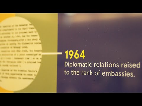 Diplomatiske forbindelser med Romania