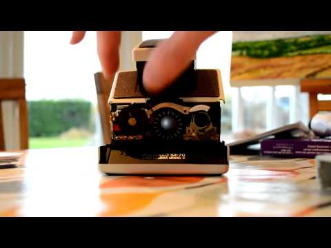 Polaroid SX-70 Focus Ring Stuck - My solution