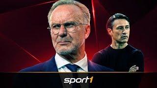 So stichelt Rummenigge immer wieder gegen Kovac | SPORT1