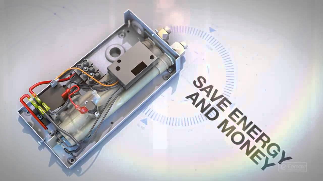 eemax tankless water heaters how it works [ 1280 x 720 Pixel ]