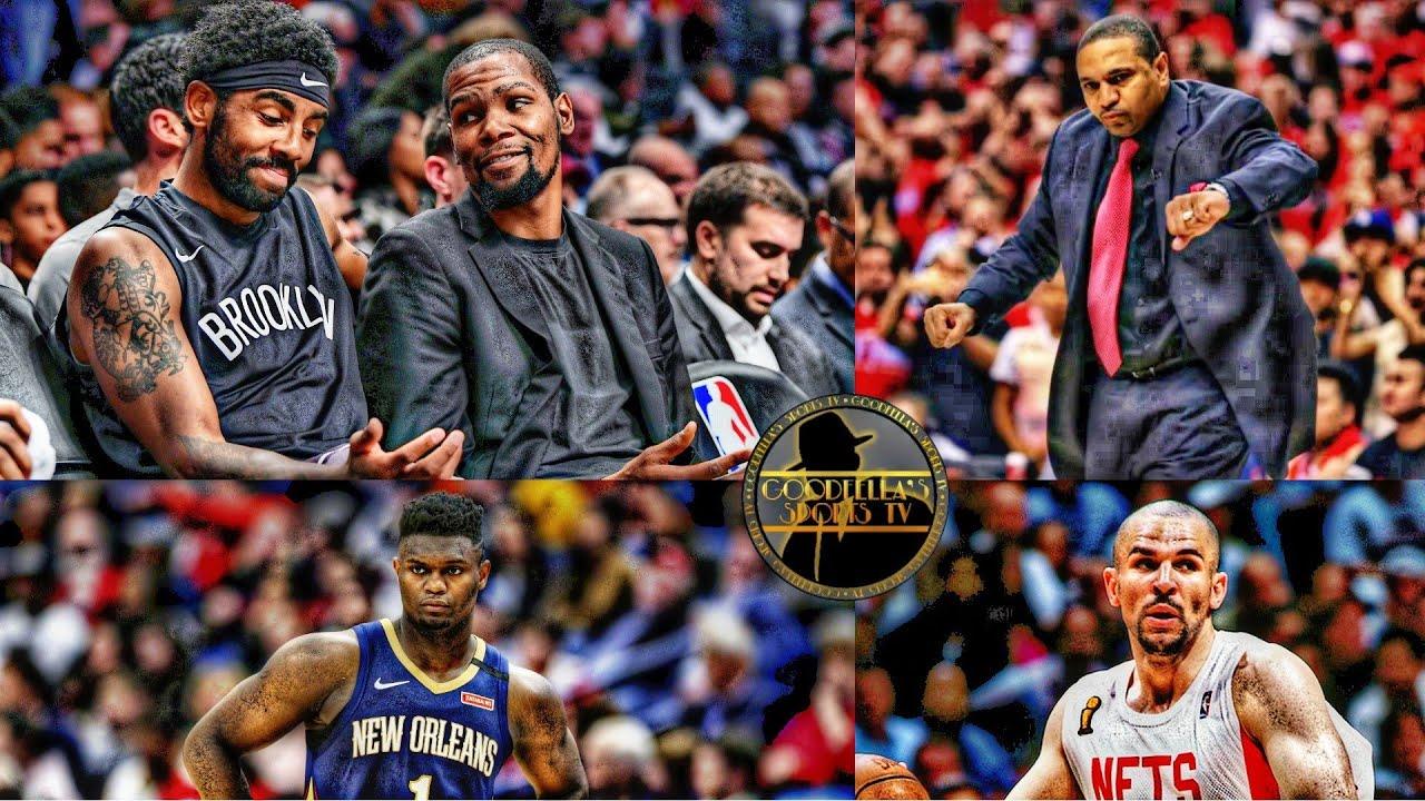 Kevin Durant Wants Mark Jackson as Nets Next Head Coach | Zion Leaves NBA Bubble!!!