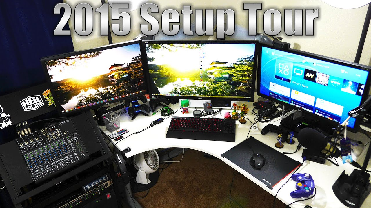 My 2015 Gaming YouTube Setup | Best, Ultimate, Epic? No, But It's Mine