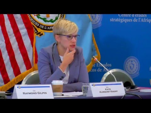 Citizen-Centric Security in Africa, Ms. Kate Almquist Knopf