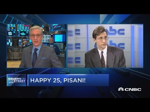 Bob Pisani celebrates 25 years at CNBC