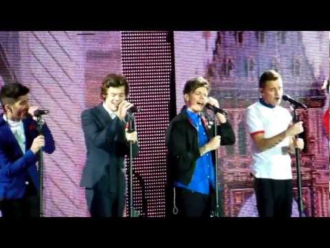 One Direction - C'mon C'mon O2 Arena 24-2-13 (Matinee) HD