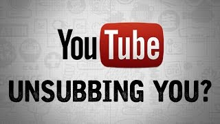 YouTube UNSUBSCRIBING YOU? - Dude Soup Podcast #99