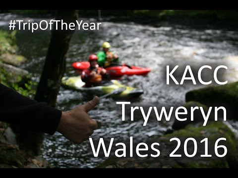 Whitewater Kayaking: Tryweryn Wales 2016
