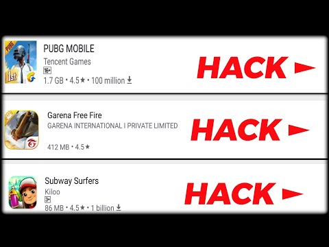 Hack All Online/Offline Games With A Single App | PUBG, FREE FIRE HACK