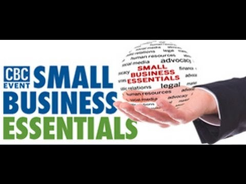 """Bringing Business Law Down to Earth"" Small Business Essentials Workshop 1 Part 1"