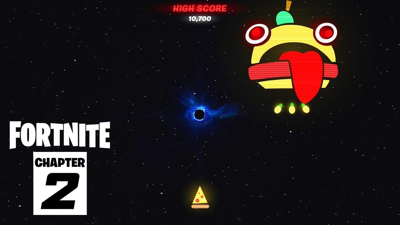 How To Unlock Fortnite S The End Black Hole Mini Game
