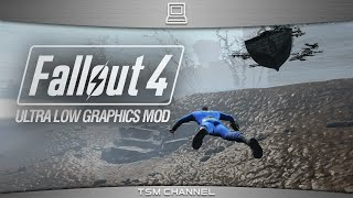 Fallout 4 Ultra Low Graphics Mod (Vault 111 to Diamond City)