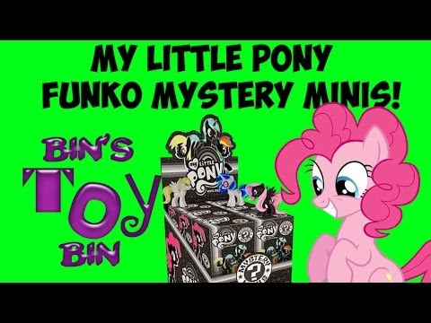 My Little Pony Funko Mystery Minis Blind Boxes Opening A