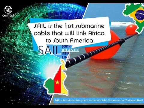 Cameroon - Brazil, submarine cable ...  By Camtel