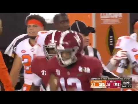 #2 Clemson vs #1 Alabama full game highlights! 2019 National Championship | Highlight Legend