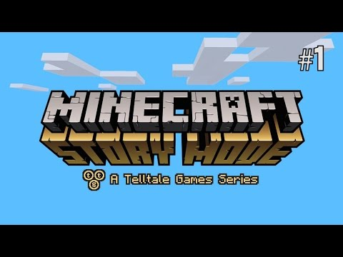 Twitch Livestream | Minecraft: Story Mode - Ep.1 The Order of the Stone [Xbox One]
