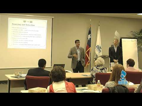 Internship workshop by Campus2Careers at the Better Business Bureau Austin TX