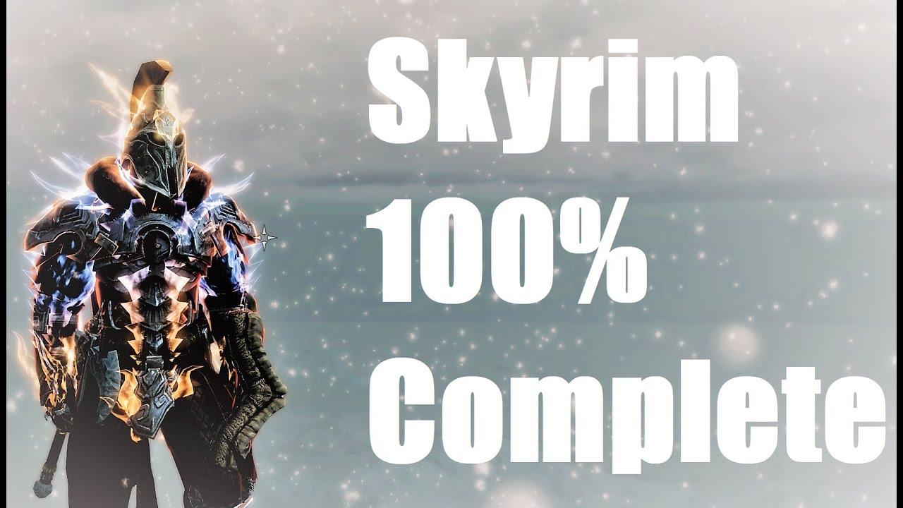 Skyrim 100% Complete