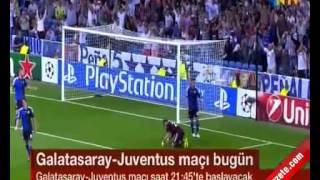 Galatasay Juventus Maçı Hangi Kanalda? 10 Aralık 2013