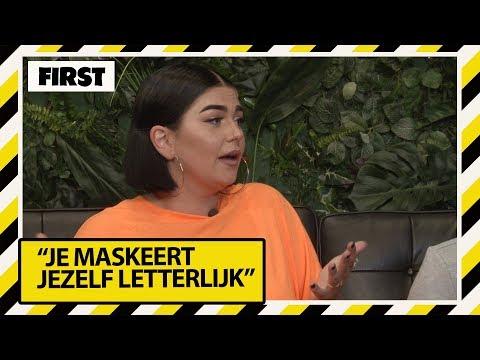 """ROXEANNE HAZES: """"ALS IK ER NORMAAL UITZIE VOEL IK MIJ MEGA ONZEKER""""     FIRST LIVE"""