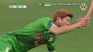 [MATCH MOVIE] VERDY highlights against TOKUSHIMA VORTIS アデミールサントス 検索動画 29
