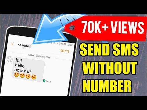 Fake Number Se Message Kaise Kare | Send Messages Without Mobile Number  New Trick 2018