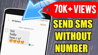 Fake Number se Message Kaise Kare | Send Messages Without Mobile Number  New Trick 2018 screenshot 2