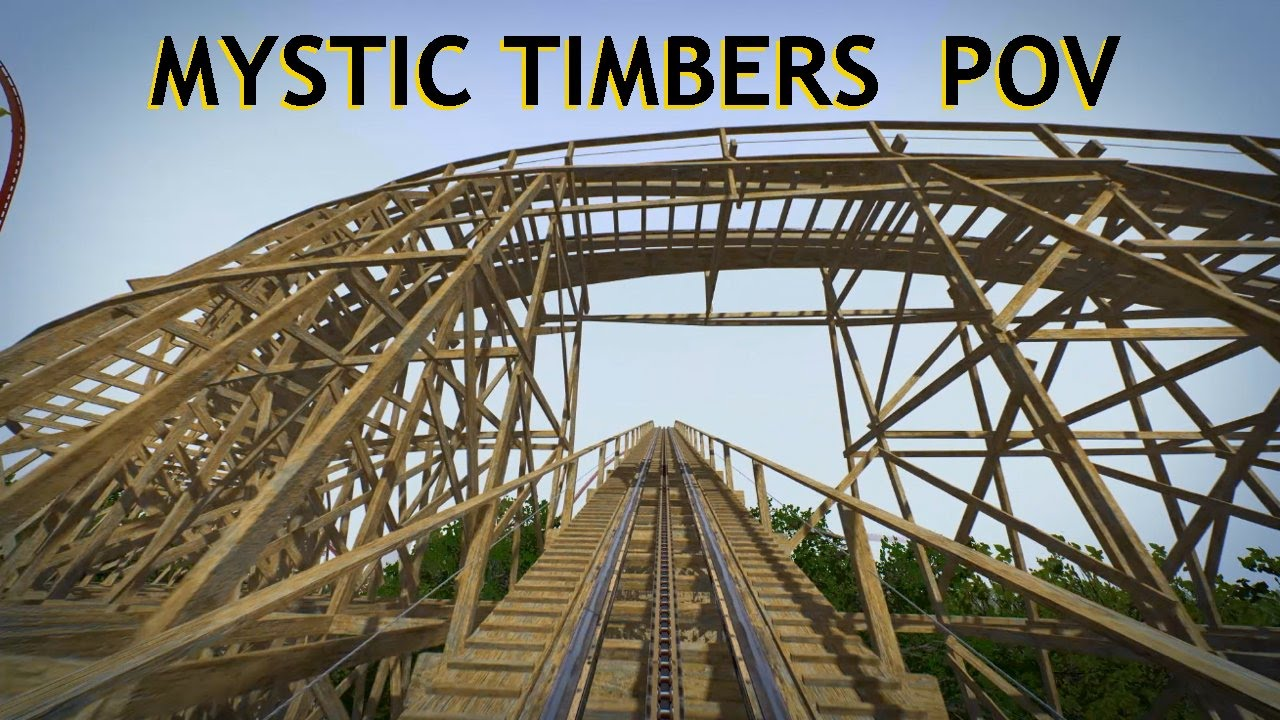 Kings island mystic timbers pov on ride new roller coaster coming in 2017 gci custom woodie youtube