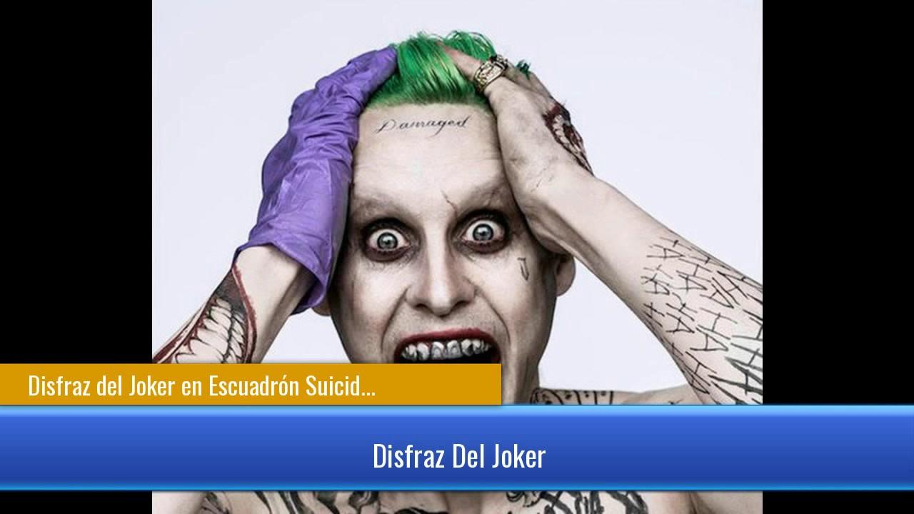 Disfraz del joker en escuadr n suicida youtube - Disfraz joker casero ...