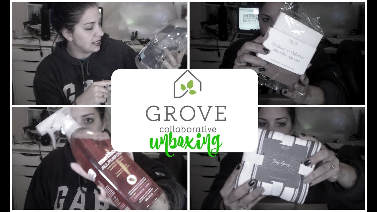 january grove collaborative unboxing youtube. Black Bedroom Furniture Sets. Home Design Ideas