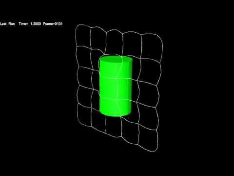 Net capture of space debris (MSC.ADAMS model)