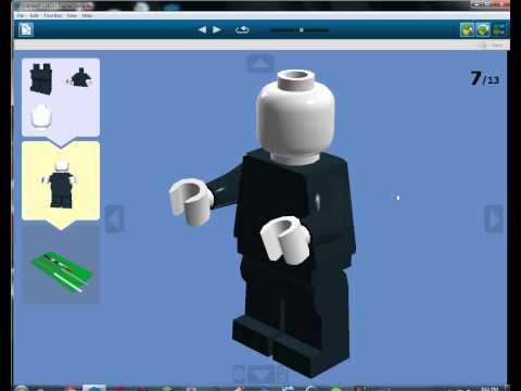 How to make a lego slender man w tentacles doovi