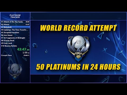 Download 🔴 World Record Attempt - 50 PS4 Platinum Trophies Within 24 Hours - LIVE Holiday Stream Dec 14 Mp4 baru