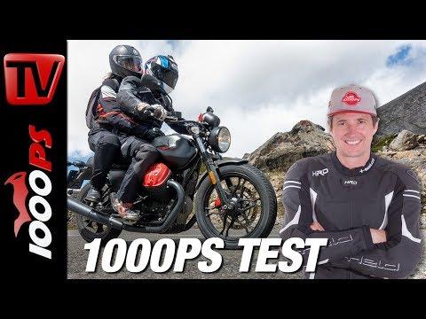 MotoGuzzi V7III Carbon Test - Alpenmasters - Überraschung! - Teil 3 von 18