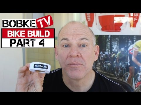 Building A Bike With Bob Roll Part 4  - Bar Tape