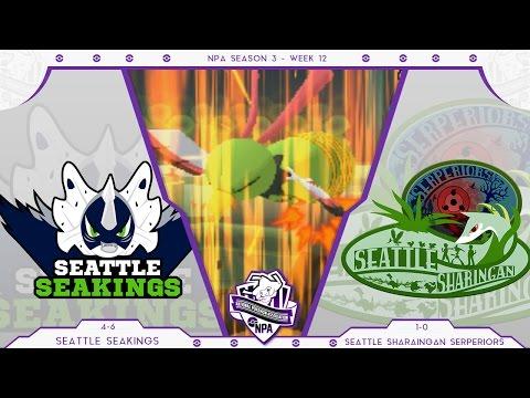NPA Season 3 Week 12 | Seattle Seakings vs. SS Serperiors (TheLindomar)