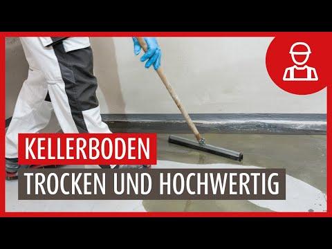 Nasse Böden in Deutschlands Kellern / Rund ein Drittel der Keller von Feuchte betroffen
