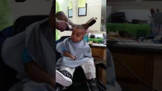 Eli's big boy hair cut